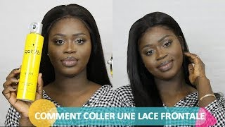 Comment coller une LACE FRONTALE//tuto coiffure//SellEva Beauty