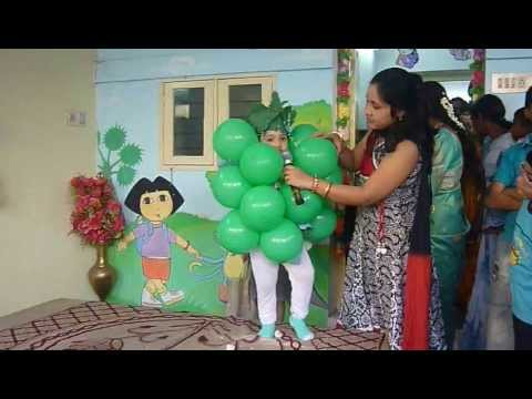 Tamana as Grapes in Fancy Dress Competition - LK Travel Video