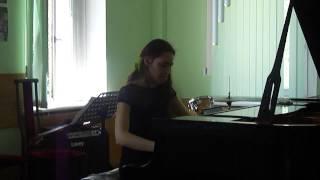 Анна Гонсалес. Госэкзамен ГМКЭДИ Бетховен соната