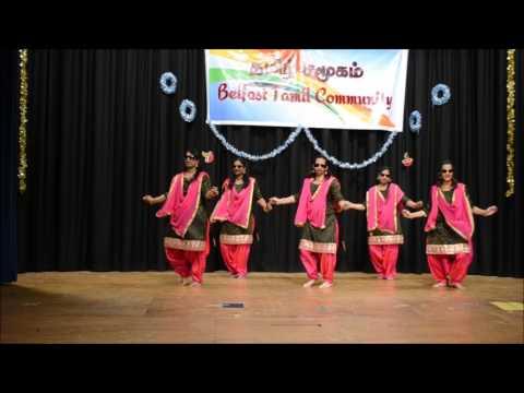 BTC Ladies Dance  Belfast Tamil New Year 2017 - Group 1