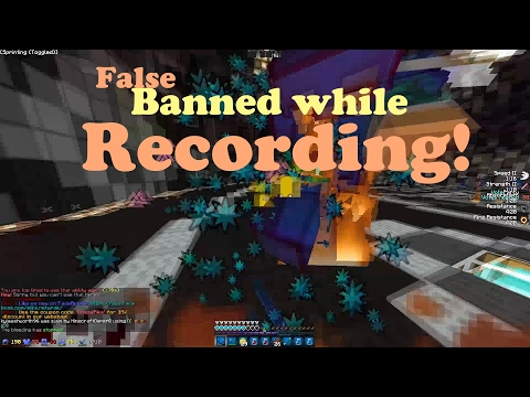 FALSELY BANNED ON