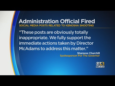 Hogan Administration Official Fired For Social Media Posts
