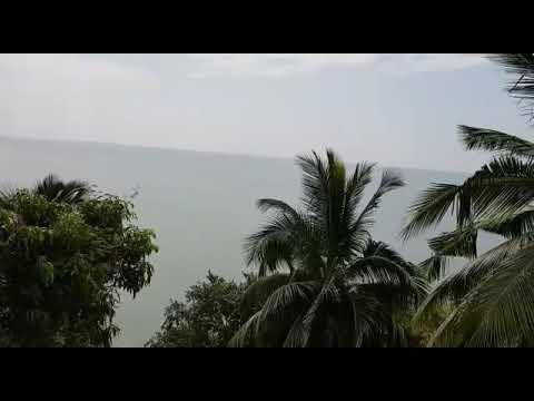 Mumbai to Goa via coastal route. Breathe taking view from top of fort Tiracol.