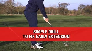 Simple, Easy Drill To Finally FIX Early Extension