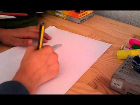 feder zeichnen in leichten schritten youtube. Black Bedroom Furniture Sets. Home Design Ideas