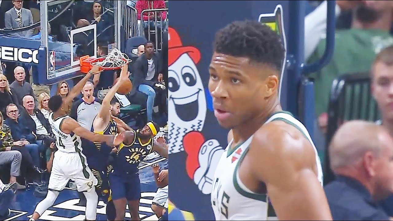 Giannis Murders Pacers With Crazy Dunk & Has Become A 3 Point Shooter! Bucks vs Pacers