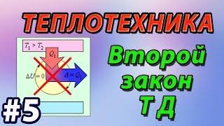 Основы теплотехники. Второй закон термодинамики. Энтропия. Теорема Нернста.