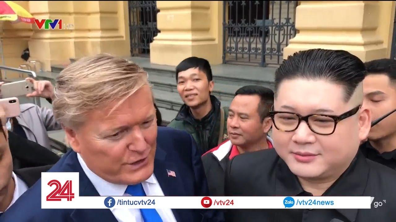 Cuộc hội ngộ ở Hà Nội của bản sao Trump - Kim | VTV24