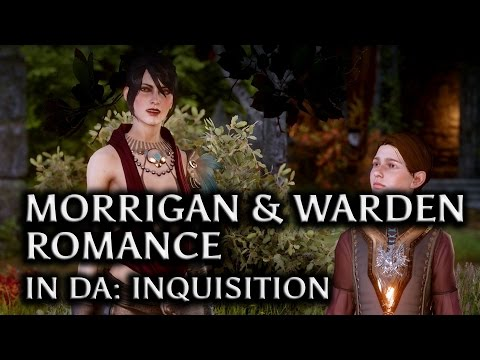 Dragon Age: Inquisition - Morrigan & The Warden Romance In DAI (Old God Baby, All Scenes)