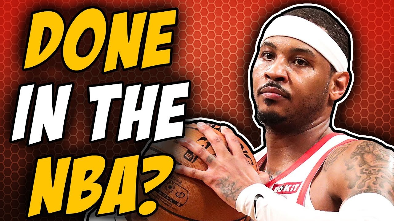 24cf90f0bf425 The End Of Carmelo Anthony  - YouTube