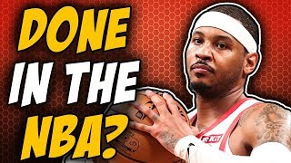 The End Of Carmelo Anthony?