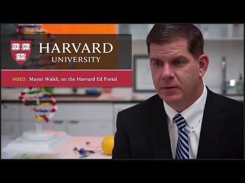 Boston Mayor Marty Walsh on hand to help launch Harvard Ed Portal