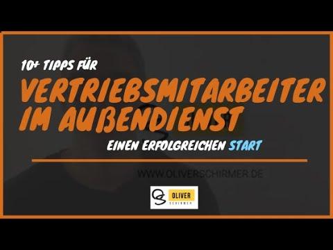 Vertriebsmitarbeiter Außendienst 10+ Tipps für den Start
