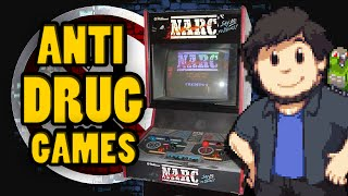 Repeat youtube video Anti Drug Games - JonTron