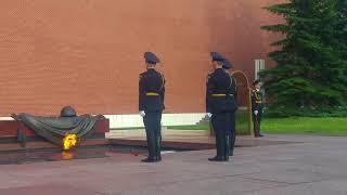 Kremlin guard changing