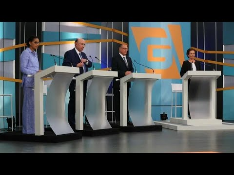 Brasil: Debate eleitoral morno na ausência de Bolsonaro