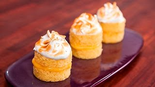 How To Make Little Lemon Meringue Cakes