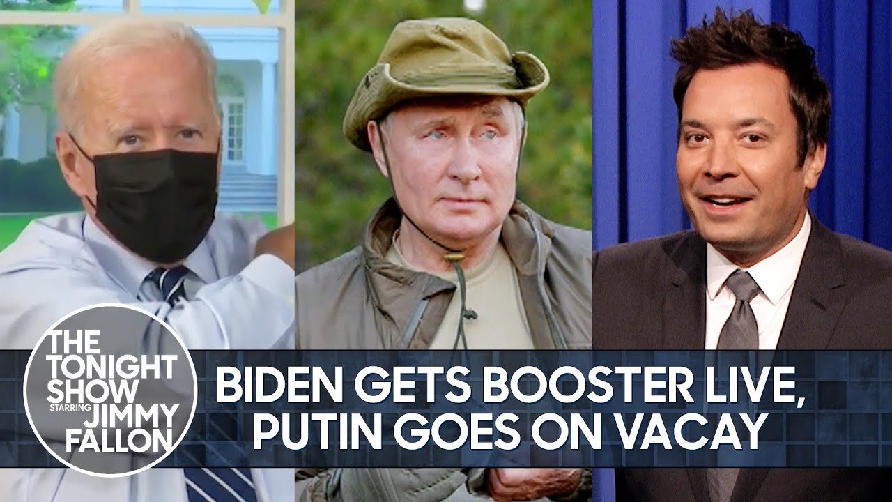 """Download Biden Gets Booster on Live Television, Putin Goes on a """"Vacation"""" 