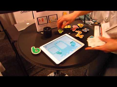 CES 2016 - Marbotic Interactive Wooden Toys - Tablet Demo - Las Vegas, NV