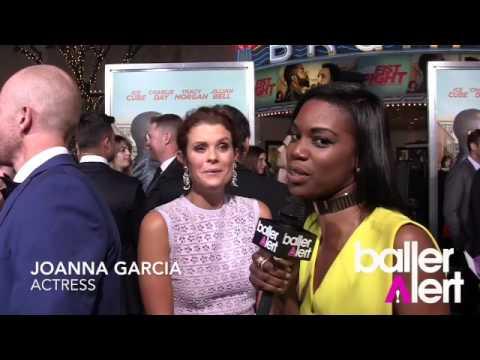 "Baller Alert- Joanna Garcia Talks ""Fist Fight"" Movie Premiere"