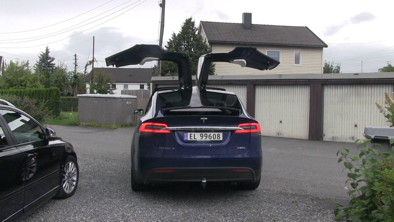Model X Height When Falcon Wing Doors Are Open