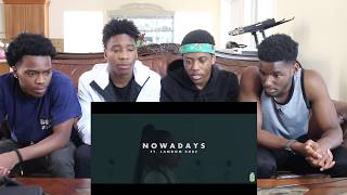 Lil Skies - Nowadays ft. Landon Cube | MUSIC VIDEO REACTION thumbnail