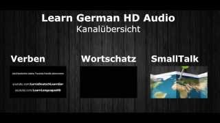 Kanalübersicht | Learn German HD♫