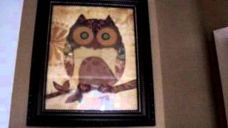 DOLLAR TREE Home Decor OWL Art Print CHEAP finds that look GOOD!(, 2014-04-20T00:14:21.000Z)