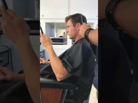 Chris Hemsworth Getting New Haircut For Mib