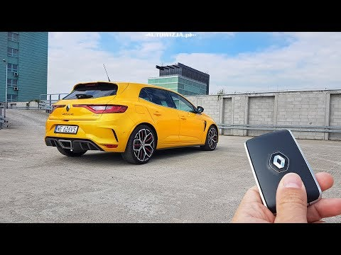 Renault MEGANE R.S. TROPHY TCe 300 TEST POV Drive and Walkaround