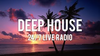 Deep House 2019 🌴 24/7 Live Music