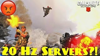Black Ops 4 20hz Servers?! Why I'm Ok With This