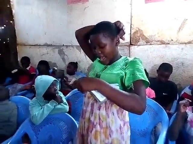 GMFC Kibera Slum Genesis 6:5-8 Noah & 8 SAVED!