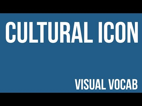 Cultural Icon defined - From Goodbye-Art Academy