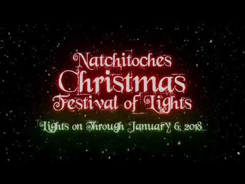 Natchitoches Christmas Festival.Natchitoches Christmas Festival Of Lights 2017