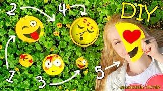 5 DIY Emoji Projects – DIY Emoji Pencil Case, Notepad, Earrings, Wall Clock and Pocket Mirror