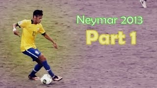 Neymar 2013 Skills | Party On My Level | (Part 1) | HD