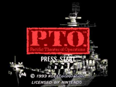 Pacific Theater of Operations PTO SNES - First Movement (Orchestrated)