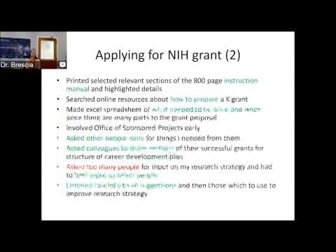 Trials & Tribulations of Securing NIH Funding
