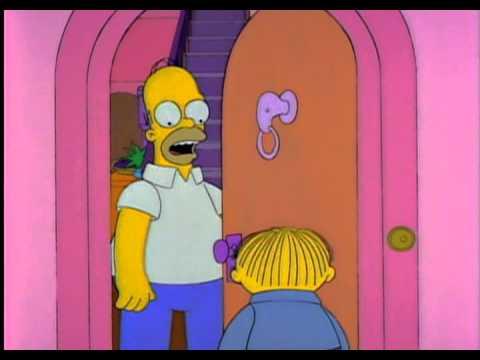 Elle est aux chiottes casse toi - Les Simpsons