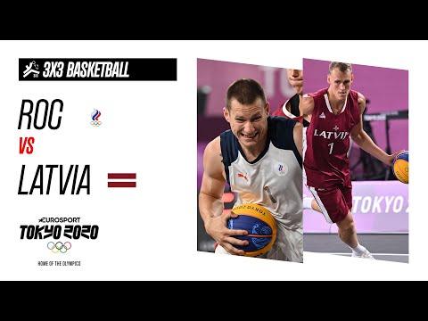 ROC vs LATVIA | Men's 3x3 Basketball - Gold Medal Match - Highlights | Olympic Games - Tokyo 2020
