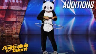 Happy Panda Makes Nicole Scherzinger Feel Like She is Tripping | Auditions | Australia's Got Talent