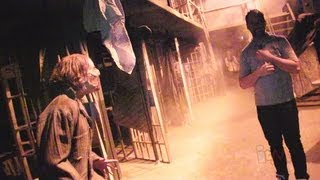 FULL The Walking Dead haunted house at Halloween Horror Nights 2013 at Universal Orlando