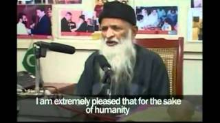 Abdus Sattar Edhi receives 2010 Ahmadiyya Muslim Peace Prize