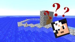 LA CASA CHE PERDE ACQUA! (Minecraft Isola Deserta)