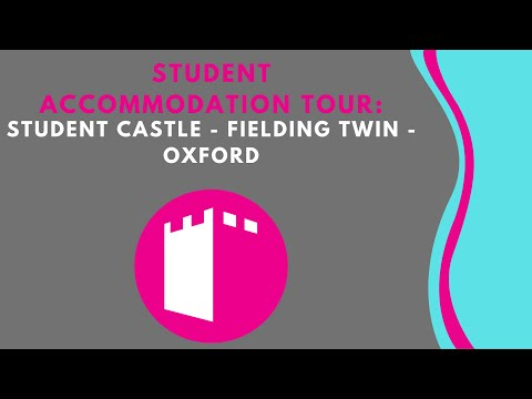 Student Castle - Fielding Twin - Student Accommodation Room Tour Oxford