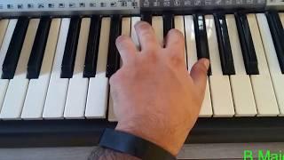 Raabta - Night In a motel version - Piano Tutorial | Agent Vinod (2012) | Keyboard Tutorial