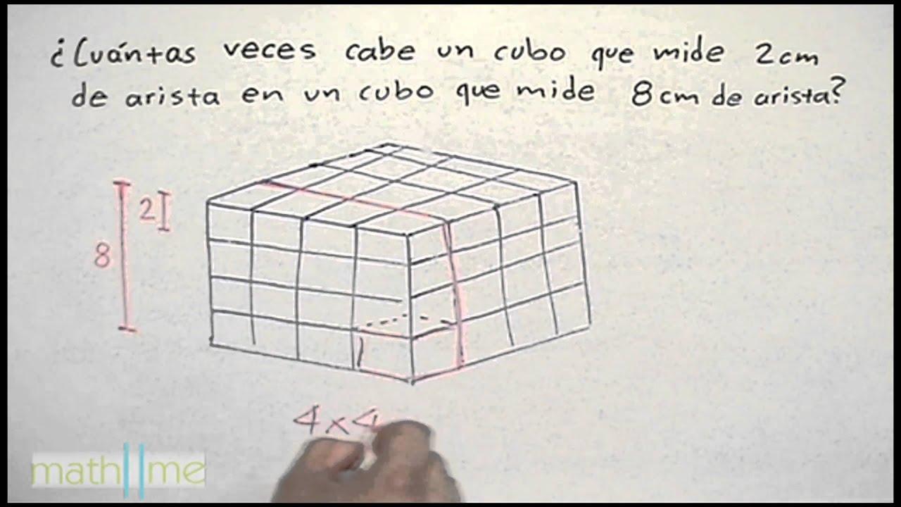 * Cuántos cubos caben en el contenedor - YouTube