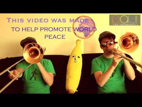New Soul - Yael Naim - Trombone & Voice Cover For World Peace