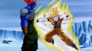 Dragon Ball Z Goku Gets Punched In The Balls [Remasterd HD]